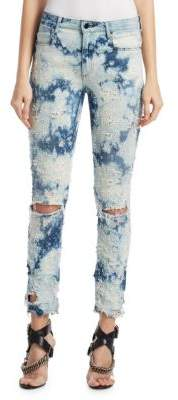 Alexander Wang Distressed Bleach Jeans