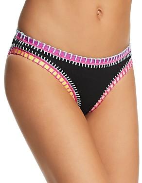 Solange Platinum Inspired By Ferrarini Platinum inspired by Ferrarini Stitched Ribbed Bikini Bottom - 100% Exclusive
