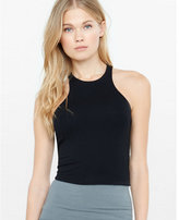 Express one eleven cutaway cropped tank