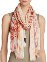 Fraas Brushed Tribal Print Scarf