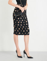 Roland Mouret Norley fil coupe skirt