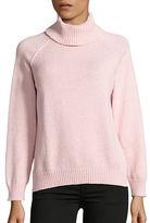 Karen Scott Petite Marled Turtleneck Sweater