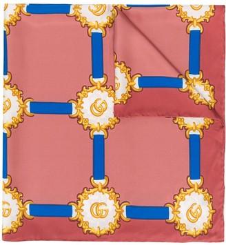 Gucci Printed Neck Scarf