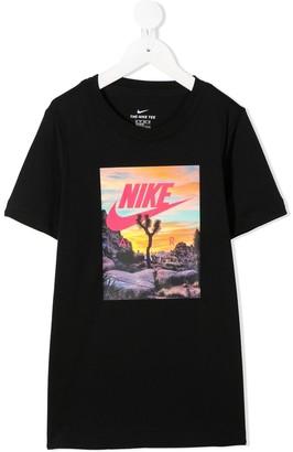 Nike Kids Air graphic T-shirt