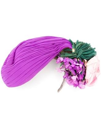 A.N.G.E.L.O. Vintage Cult 1940s Floral Detail Hat