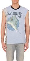 Maison Margiela Men's Marlin-Print Sleeveless T-Shirt-LIGHT BLUE