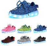 Datelight-CA Datelight Boys Girls USB Led Light 7-Color Kids children Unisex Sisters Brothers Casual Fashion Sneakers Breathable Athletic Sports Shoes