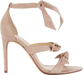 Alexandre Birman Lolita Blush Suede Sandals