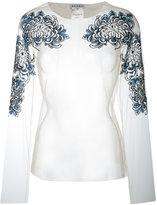 Melampo - Chrisanthemum blouse - women - Nylon/Polyester - 40