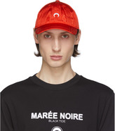 Marine Serre Red Moire Logo Cap