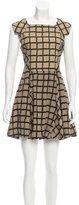 Rag & Bone Abstract Print Sleeveless Dress