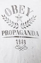 Obey The Propaganda Flower Sack Tee in White