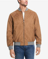 Weatherproof Microsuede Baseball Jacket, Created for Macy's