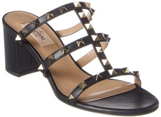 Valentino Rockstud 60 Leather Sandal