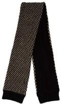 Little Marc Jacobs Girls' Metallic Knit Scarf