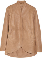 Veda Atlas washed-leather jacket