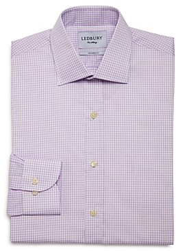 Ledbury Reed Check Slim Fit Dress Shirt