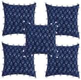 Jaipur Textile Hub 5 Piece cotton Khambadiya cushion cover set (JTH-SC-34)