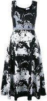 Osman jacquard dress - women - Polyamide/Cashmere/Wool - 10