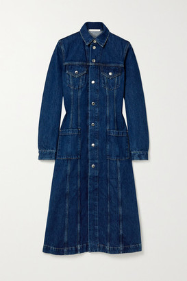 Helmut Lang Denim Coat - Mid denim