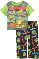 Nickelodeon AME Sleepwear Little Boys' Teenage Mutant Ninja Turtles Pajama Set