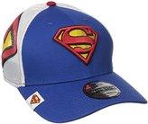 New Era Cap Men's Logo Wrapped Superman 39thirty Stretch Fit
