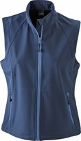 James & Nichoson Women's Jn1023 Softshe Outdoor Vest / Gietarge