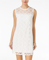 City Studios Juniors' Lace Shift Dress