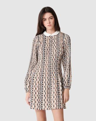 Maje Rockilana Dress