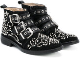 Ermanno Scervino teen embellished buckle boots