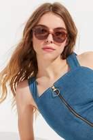 Shwood Powell Flat Top Round Sunglasses