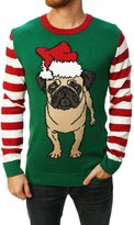 Ugy Christmas Sweater Men's Pugife Puover Sweater-arge