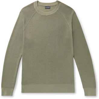 Club Monaco Garment-Dyed Cotton Sweater
