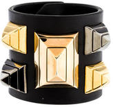 Givenchy Leather Studded Cuff