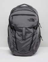 The North Face Surge Backpack In Grey