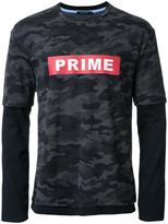 GUILD PRIME camouflage overlay effect T-shirt