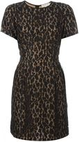 MICHAEL Michael Kors leopard lace shortsleeved dress