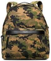 Jack Spade Bonded Canvas Camouflage Backpack