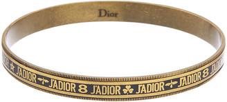 Christian Dior Logo Brass Bracelet