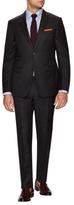 Z Zegna Solid Wool Notch Lapel Suit