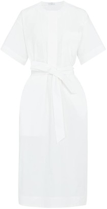 Co Cotton-blend poplin midi dress