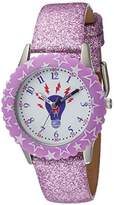 EWatchFactory Girl's 'Discovery Channel' Quartz Stainless Steel Sport Watch, Color:Purple (Model: WDC000003)