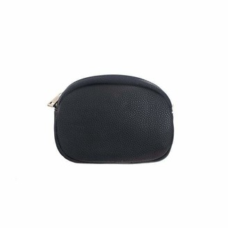 Meira T Meirat MeiraT Black Belt Bag w/ Chain Belt Strap & Evening Strap