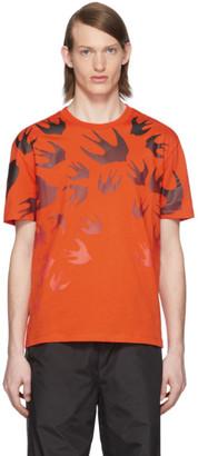 McQ Orange Swallow T-Shirt