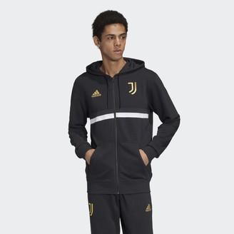 adidas Juventus 3-Stripes Full-Zip Hoodie