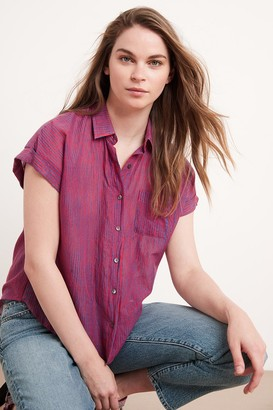 Velvet by Graham & Spencer Aleta Button-Up Shirt