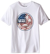 Vans Kids Dual Palm Logo Fill T-Shirt (Big Kids)