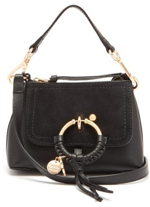 See by Chloe Joan Mini Leather And Suede Cross-body Bag - Black