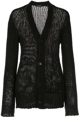 Ann Demeulemeester fitted V-neck cardigan