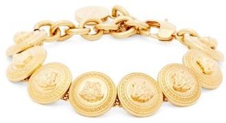 Versace Tribute Medusa-head Metal Bracelet - Gold
